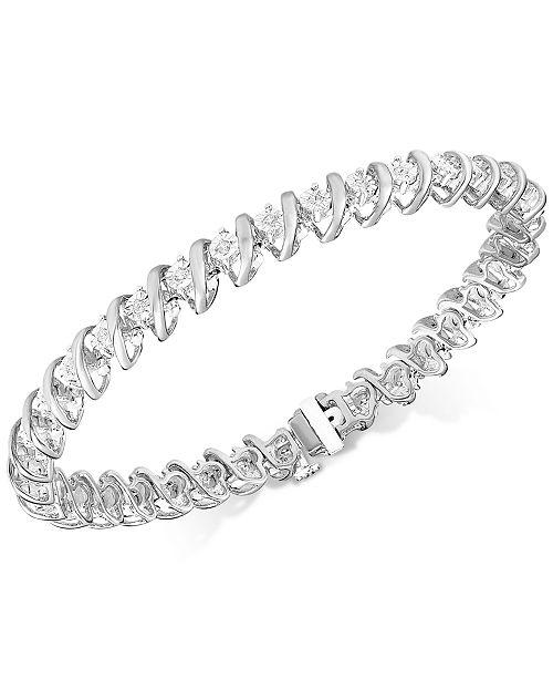 Macy S Diamond Tennis Bracelet In