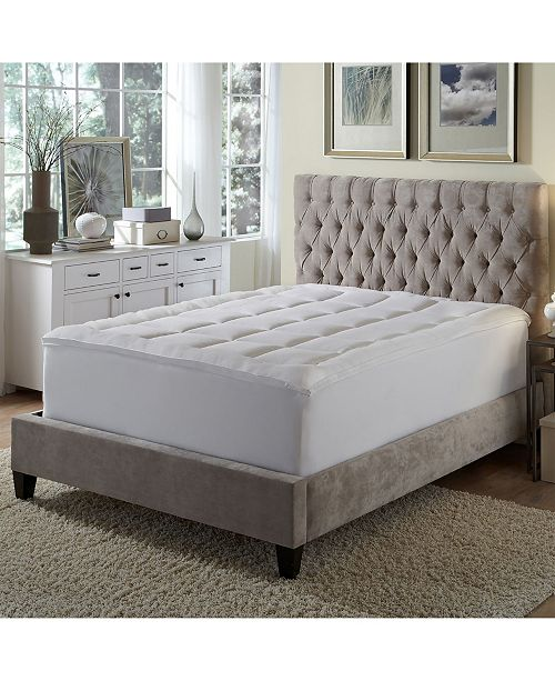 Rio Home Fashions iDeal Comfort Microfiber Gusseted Fiberbed - King