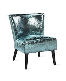 NovoGratz Mazzy Sequin Accent Chair