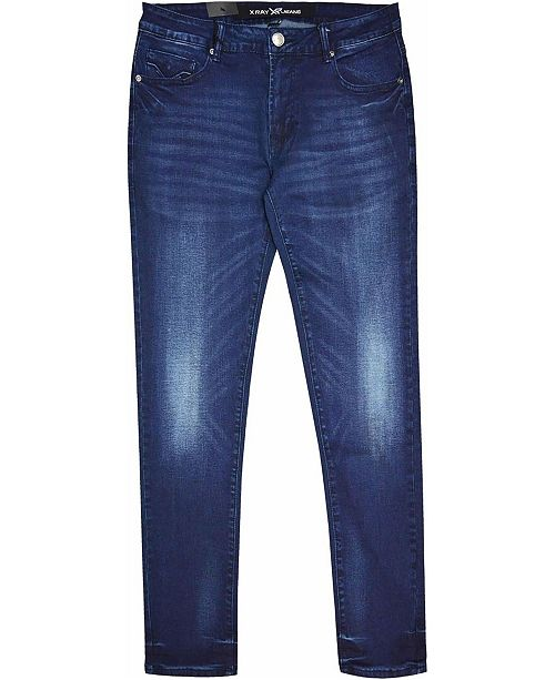 X-Ray Washed Denim Pant