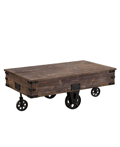 Firs Time And Co Factory Cart Coffee Table