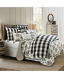 Camille 3 Piece King Comforter Set