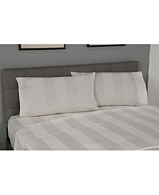 Home True Stuff Mega Stripe Queen Flat Sheet