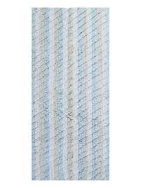 "Affinity Linens Oversized Stripe Cotton Textured 22"" x 60"" Bath Rug"