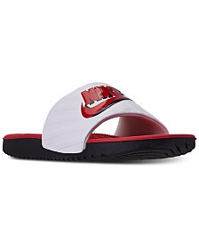Nike Boys Kawa JDI Slide Sandals from Finish Line