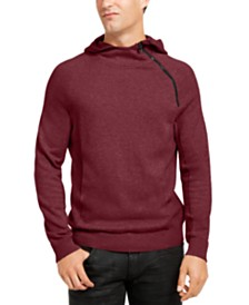 I.N.C. Men's Hooded Zip Sweater, Created For Macy's