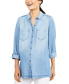 Maternity Chambray Shirt