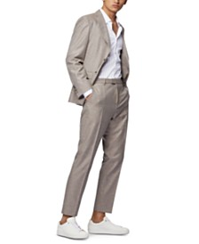 BOSS Men's T-Novis/Brite Micro-Patterned Slim-Fit Suit