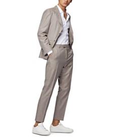 BOSS Men's T-Novis/Brite Micro-Patterned Slim-Fit Suit