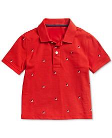 Big Boys Polo Shirt with Magnetic Buttons