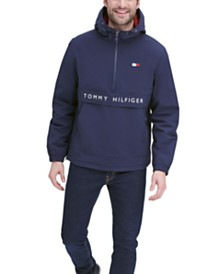 Tommy Hilfiger Men's Taslan Popover Logo Jacket, Created for Macy's