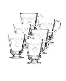 La Rochere Versailles 9-ounce Coffee Cup, Set of 6