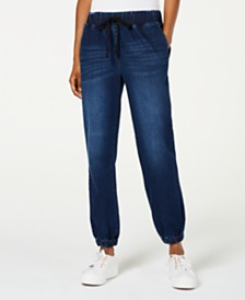 Tinseltown Drawstring Jogger Jeans