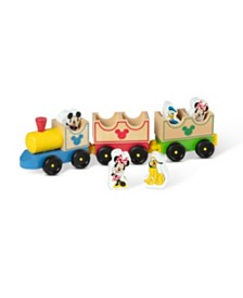Melissa and Doug Mickey Mouse  Friends Wooden All Aboard Train