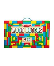 200 Wood Blocks Set