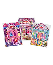 Puffy Sticker Bundle - Dress-Up, Princess and Mermaid