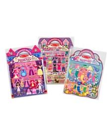 Puffy Sticker Bundle - Dress-Up, Princess and Mermaid
