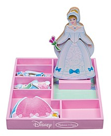 Cinderella Wooden Magnetic Dress-Up
