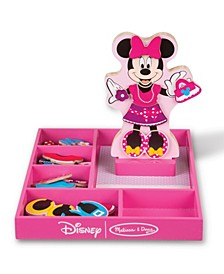 Minnie Wooden Magnetic Dress-Up