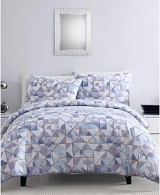 Sky Geo 3-Pc. Duvet Cover Sets