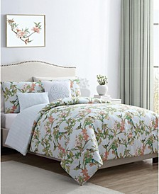 Chelsea Springs 5-Pc. Queen Duvet Cover Set