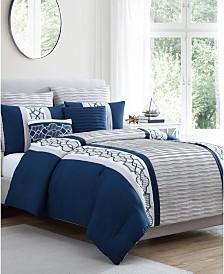 Darryl 7-Pc. Queen Comforter Set