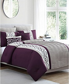 Darryl 7-Pc. Queen Comforter Set