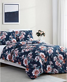 Shelley Floral 2-Pc. Twin XL Comforter Set