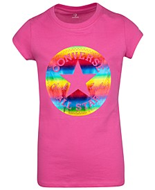 Big Girls Cotton Graphic-Print T-Shirt
