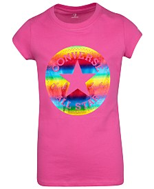Converse Big Girls Cotton Graphic-Print T-Shirt