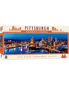 Masterpieces Pittsburgh 1000 Piece Panoramic Puzzle
