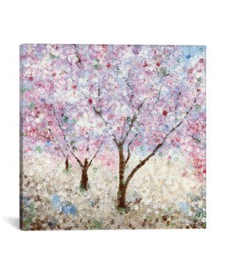 Cherry Blossom Festival Ii by Katrina Craven Wrapped Canvas Print - 26
