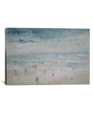 """The Beach by Claudio Missagia Wrapped Canvas Print - 18"""" x 26"""""""