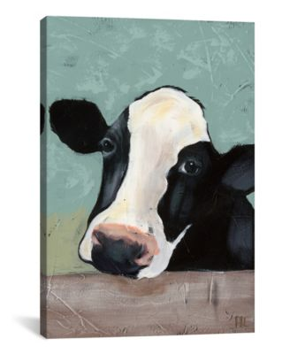 """Holstein Cow Iii by Jade Reynolds Wrapped Canvas Print - 26"""" x 18"""""""