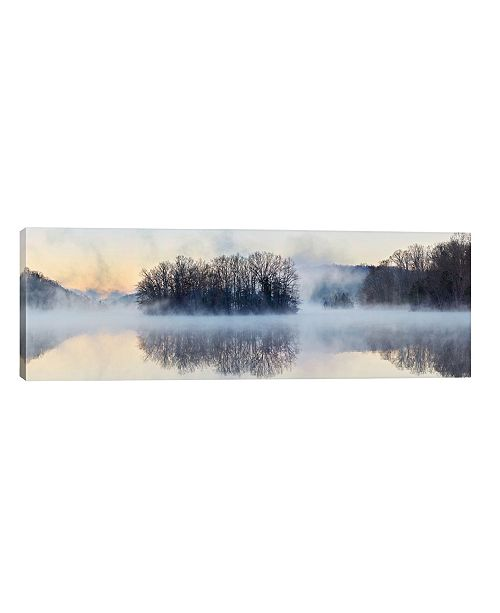 "iCanvas Scene On The Water VIII by James Mcloughlin Wrapped Canvas Print - 16"" x 48"""