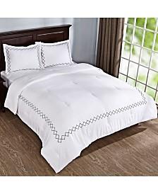 Puredown 3 Piece Comforter Set with Pillow Shams Queen