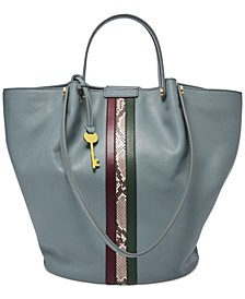 Callie Leather Tote
