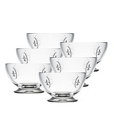 La Rochere Fleur De Lys 21-ounce Bowl, Set of 6