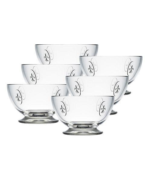 La Rochere La Rochere Fleur De Lys 21-ounce Bowl, Set of 6