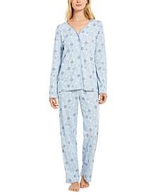 Printed Cotton Pajamas Set, Created for Macy's