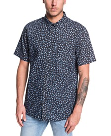 Quiksilver Men's Small Fry Short Sleeve Woven