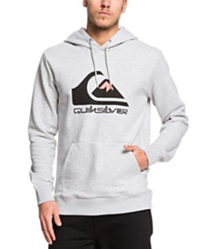 Quiksilver Men's Omni Logo Screen Fleece Hoodie