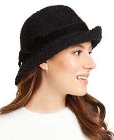 I.N.C. Packable Bow Cloche, Created for Macy's