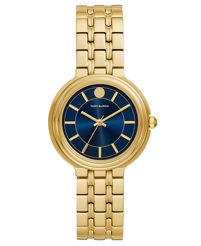 Tory Burch - Women's Bailey Gold-Tone Stainless Steel Bracelet Watch 34mm