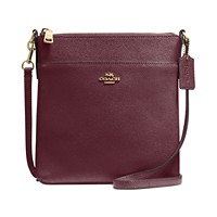 Deals on COACH Messenger Crossbody in Crossgrain Leather