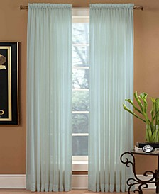 "Sheer Preston Rod Pocket 51"" x 108"" Panel"