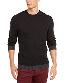 Men's Supima Cotton Crewneck Sweater, Created for Macy's
