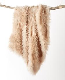 Martha Stewart Collection Longhair Faux Fur Throw, Created for Macy's