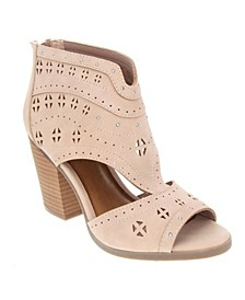 Viveca Chop-Out Booties