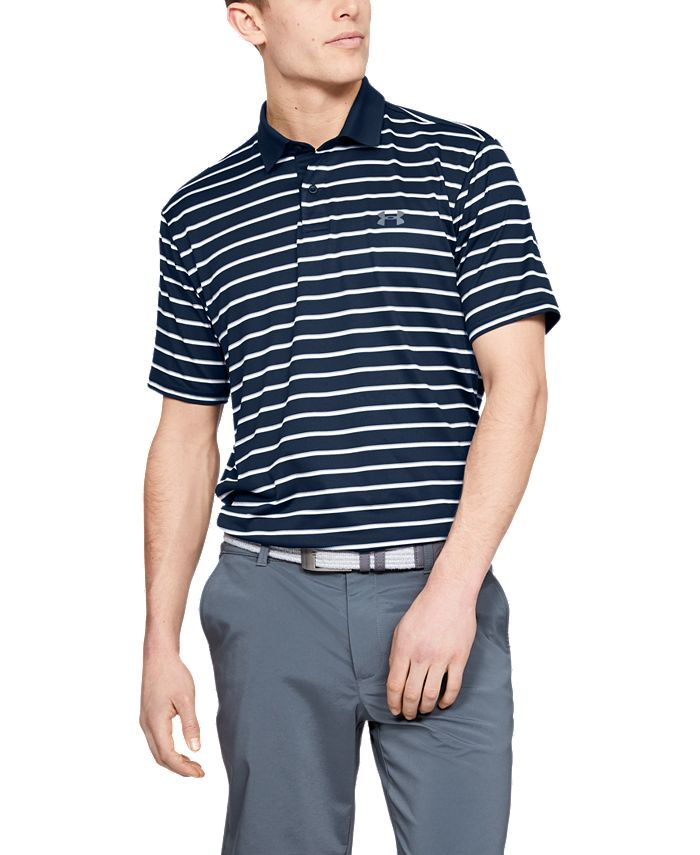 Under Armour - Men's Performance Polo Textured Stripe